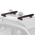 Yakima 8003087 FatCat 4 Pair Ski Racks 2 Snowboard Carriers for Car Roof Racks