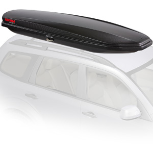 Yakima 8007338 SkyBox Lo Carbonite Car Roof Rack Cargo Box