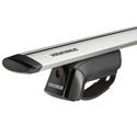 Yakima 8000147c TimberLine Car Roof Rack with JetStream Aluminum Bars for Factory Raised Rails