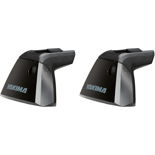 Yakima BaseLine Towers 8000150 for Car Roof Rack on Naked Rooflines, 2 Pack