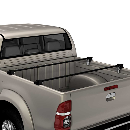 Yakima BedRock Towers 8001140 for Pickup Truck Side Rail Mount Bed Racks
