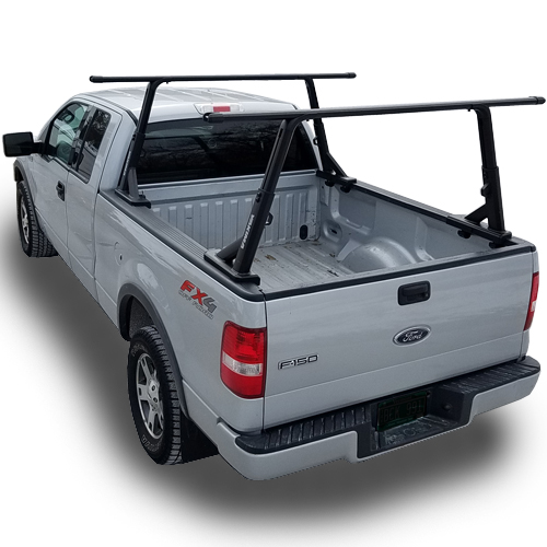 Yakima 8001151c OverHaul HD Complete Height Adjustable Pickup Truck Rack with Crossbars for Sports and Utility Use
