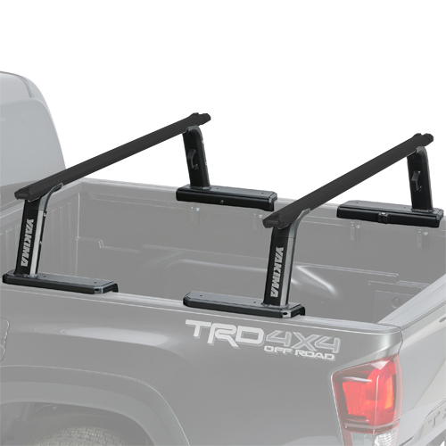 Yakima 8001152c OutPost HD Mid Height Pickup Truck Bed Rack with HD Crossbars