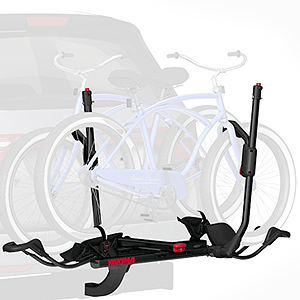 Yakima HoldUp 2 Bike 1-1/4 8002445 Hitch Platform Style Bicycle Racks Carriers, Return Item 20% Off