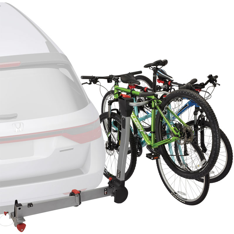 Yakima SwingDaddy 8002464 4 Bike 2 inch Trailer Hitch Receiver Mount Bicycle Racks and Carriers