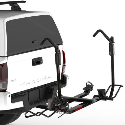 Yakima HoldUp EVO 8002480 2 Bike 1.25 Trailer Hitch Receiver Platform Style Bicycle Racks Carriers