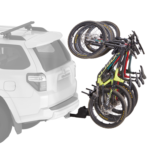 Yakima 8002484 HangOver 4 Bike Vertical Bicycle Carrier for 2