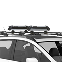Yakima PowderHound 8003081 4 Pair Ski 2 Snowboard Carriers for Car Roof Racks, Closeout 20% Off