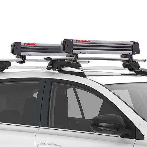 Yakima 8003092 FreshTrack 4 Pair Ski Rack 2 Snowboard Locking Carrier
