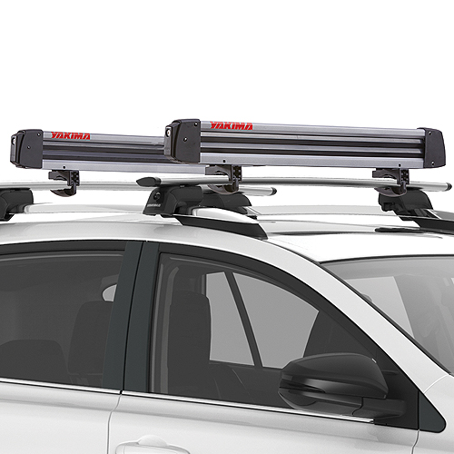 Yakima FreshTrack 6 Pair Ski Racks 4 Snowboard Carriers 8003093 for Car Roof Racks, Rebox Item