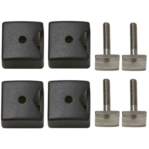Yakima 8003098 SmarT-Slot 2 Kit T-Slot Adapter for Ski Snowboard Racks