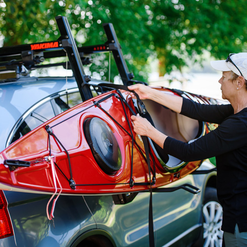 Yakima ShowDown 8004081 Load Assist Kayak and Stand Up Paddleboard Carrier SUP for Car Roof Racks