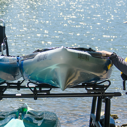 Yakima BigCatch 8004091 Fishing and Sit-on-top Kayak Saddles for Racks and Trailers