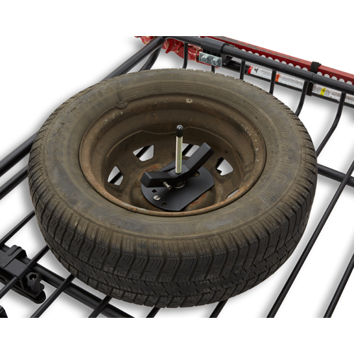 Yakima 8007076 Spare Tire Carrier for Mega Warrior and Load Warrior Roof Rack Baskets
