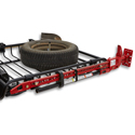 Yakima 8007077 High Lift Jack Carrier for Mega Warrior and Load Warrior Roof Rack Baskets