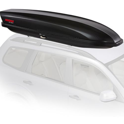 Yakima SkyBox 12 Carbonite 8007334 Car Roof Rack Cargo Box