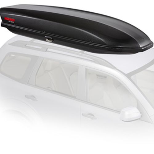 Yakima SkyBox 18 Carbonite 8007336 Car Roof Rack Cargo Box
