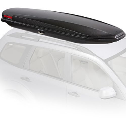 Yakima SkyBox Lo Carbonite 8007338 Car Roof Rack Cargo Box