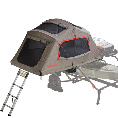 Yakima 8007436 SkyRise HD 2 Small Roof Rack Mounted Rooftop Tent