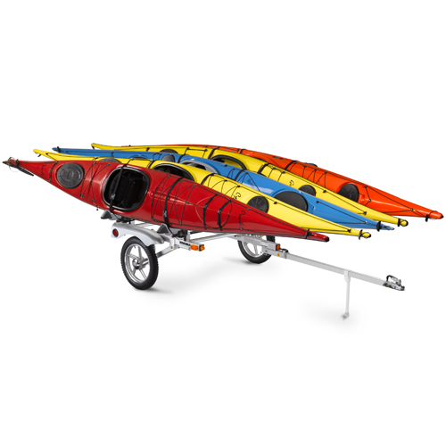 Yakima 8008107 Rack and Roll Trailer with 78 Bars for Kayaks, Canoes, Bikes