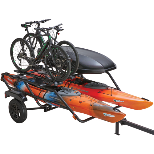 Yakima 8008129 EasyRider High Trailer for Kayaks, Paddleboards, Bikes