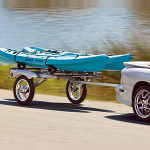 Yakima 8008107 Rack and Roll Trailer with 78 Bars, Reboxed 15% Off
