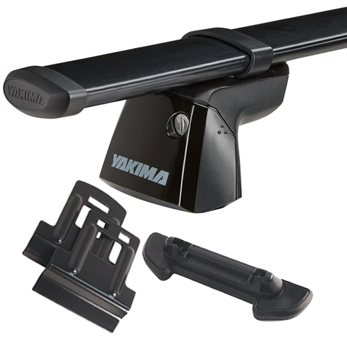 Yakima BMW X1 5dr 2012-2015 RidgeLine Flush Mount Car Roof Rack - Steel CoreBars, RidgeClips
