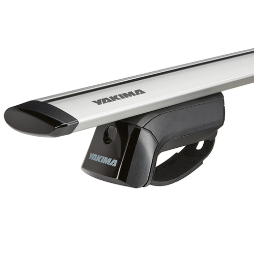 Yakima Mercedes C-Class Wagon 2002-2005 TimberLine Car Roof Rack with JetStream Aluminum Bars for Factory Raised Rails