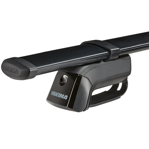 Yakima Mitsubishi Outlander 5dr 2003-2006 TimberLine Car Roof Rack with Steel CoreBars for Factory Raised Rails