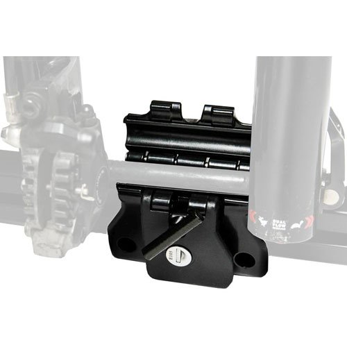 RockyMounts DriveShaft Track Mount 10860 Locking Thru-Axle Bike Rack