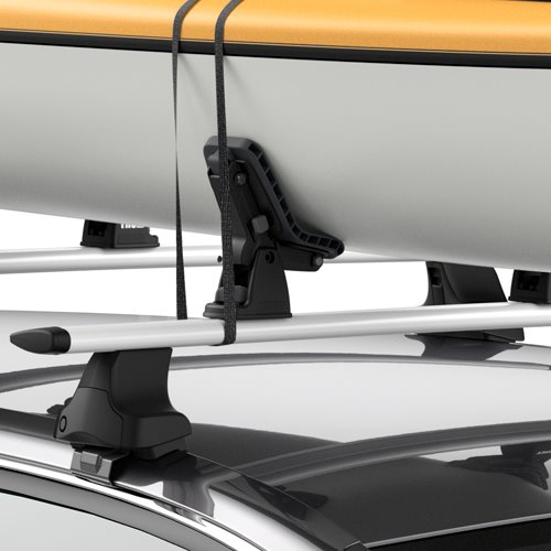 Thule 895 DockGrip Kayak Saddles and SUP Carriers for Car Roof Racks