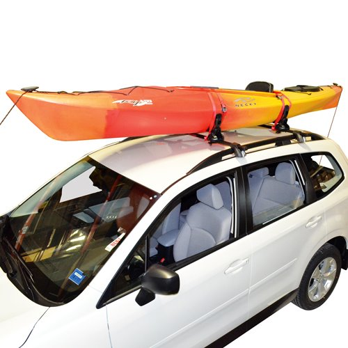 Malone mpg110md Saddle Up Pro Kayak Racks and SUP Carriers with Straps