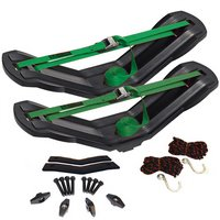 Malone mpg207 MegaWing SOT Large Fishing Kayak Rack Saddles and Straps