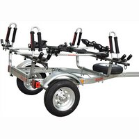 mpg461kb Malone mpg461kb MicroSport Trailer, Spare Tire, 2 J-Pro2, Bike Racks