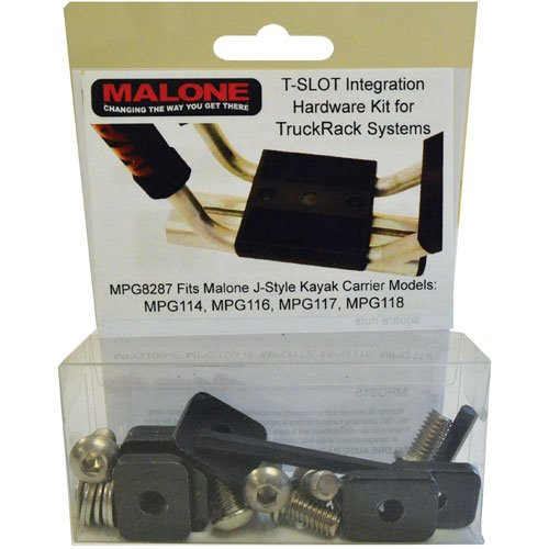Malone mpg6604 T-Slot Adapter Mounting Kit for Aero Style Crossbars
