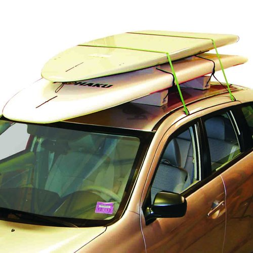 Malone mpg171 Deluxe Stand Up Paddleboard Surfboard Carrier and Straps