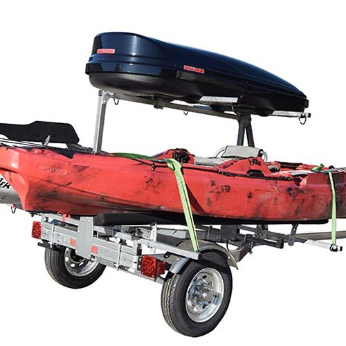 Malone mpg464-lbt MicroSport 2 Tier LowBed Trailer for Kayaks, Canoes