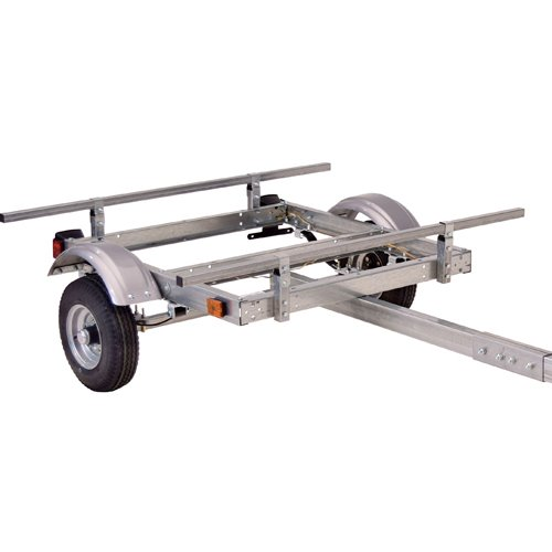 Malone mpg585 EcoLight Base Trailer for Kayaks, Canoes, Bikes, SUPs