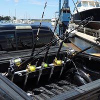 portarod 5 Rod Offshore Fullsize SD Pickup Rack for Fishing Poles Rods