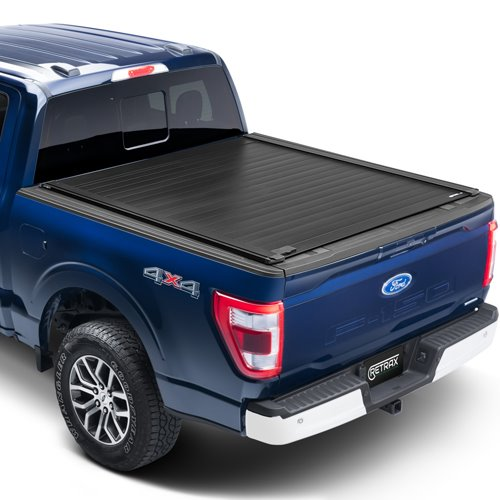 rt-80375 RetraxPro XR Tonneau Cover T-80375 F150 8 Bed 2015-2020