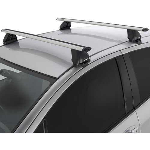Rhino-Rack VORTEX 2500 Silver Car Roof Rack System for Naked Roofs