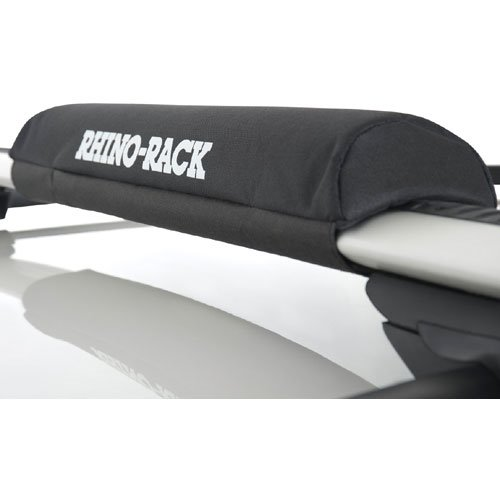 Rhino-Rack 21.5 Universal Rack Pads with Padded Tie Down Straps for Surfboards, SUPs, Windsurfers rwp03