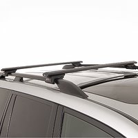 Rhino-Rack sxb Series Black Raised Railing Aero Crossbar Car Roof Rack