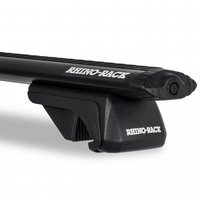 Rhino-Rack SX Vortex Series Black Raised Railing Mount Aero Crossbar Car Roof Rack System