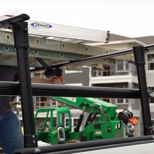 Rapid Switch System Pro HD Height Adjustable Pickup Truck Rack Long Bed