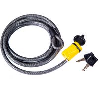 Saris 8 Foot Coated Stainless Steel Locking Cable and Keys 981