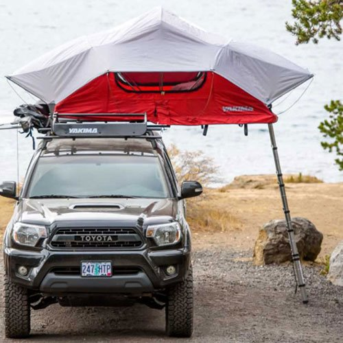 Yakima 8007407 SkyRise Small 2 Person Car Roof Rack Rooftop Tent