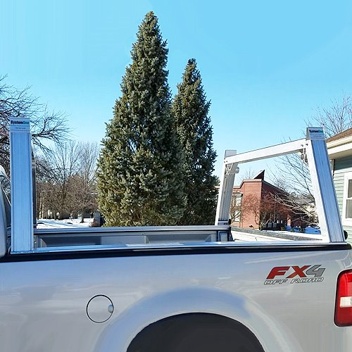 System One I.T.S. Utility Rig Long Bed Pick-up Truck Ladder Rack