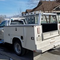 System One Utility Service Body Truck Rack I.T.S. Contractor Rig