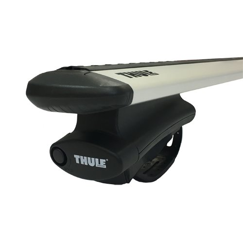 Thule 450rc Rapid Crossroad Raised Rail Rack Silver WingBar Evo Bars